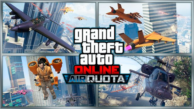 GTA Online - Neuer Multiplayer-Modus Air Quota
