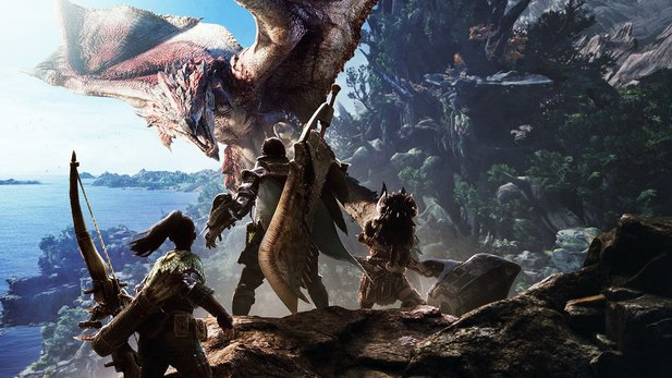 Monster Hunter World legt einen Rekordstart hin.
