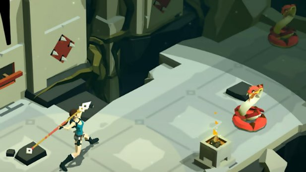 Lara Croft GO - Ankündigungs-Trailer des Mobile-Ablegers