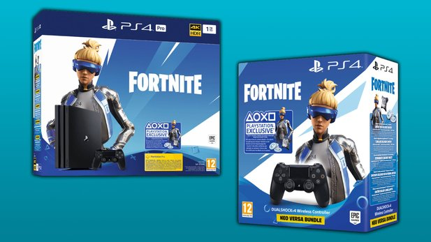 PS4 Pro Fortnite Neo Versa Bundle