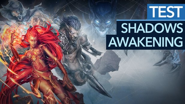 Shadows: Awakening - Test-Video: Ein Dämon spielt mit Marionetten