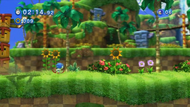 Sonic Generations - Test-Video