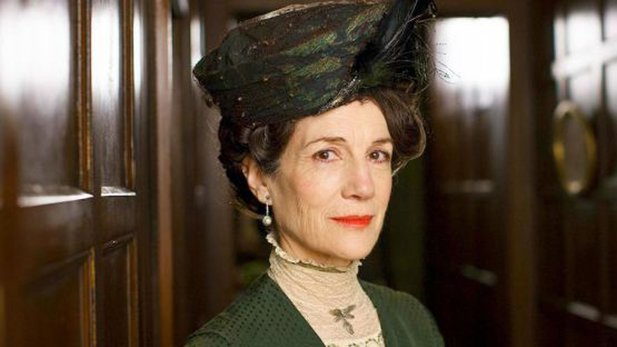 Harriet Walter im Serienhit Downton Abbey.