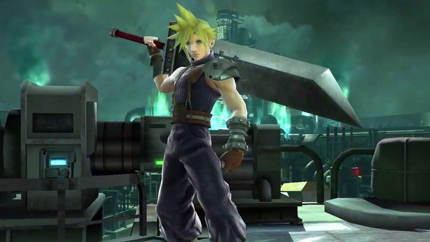 Super Smash Bros. - Gameplay-Trailer kündigt Cloud aus Final Fantasy 7 an