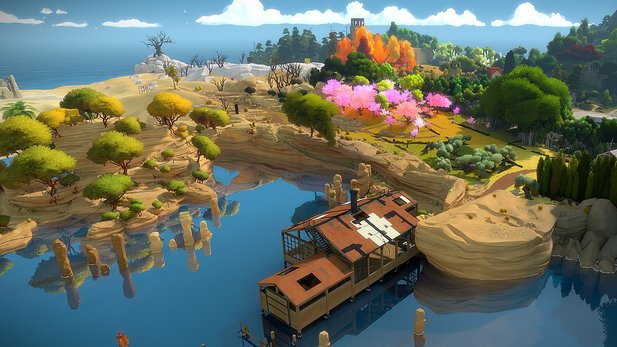The Witness gibt es im März in PS Plus.