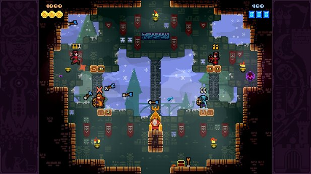 Das Addon »Dark World« für TowerFall Ascension erscheint am 12. Mai 2015.