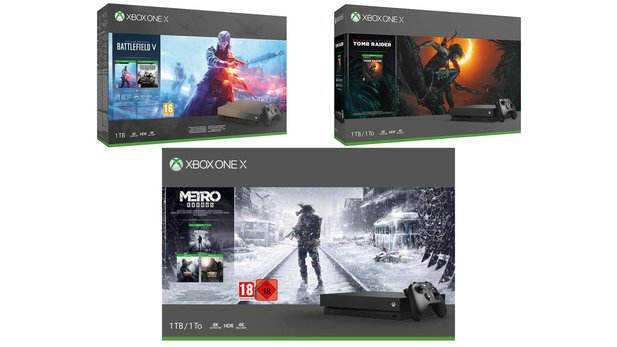 Xbox One X Bundles im Angebot bei Amazon.