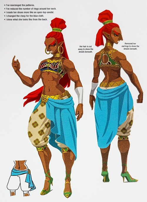 Zelda: Breath of the Wild - Champion Urbosa