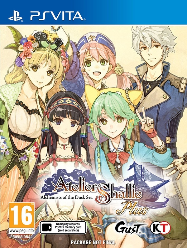 Cover zu Atelier Shallie Plus: Alchemists of the Dusk Sea