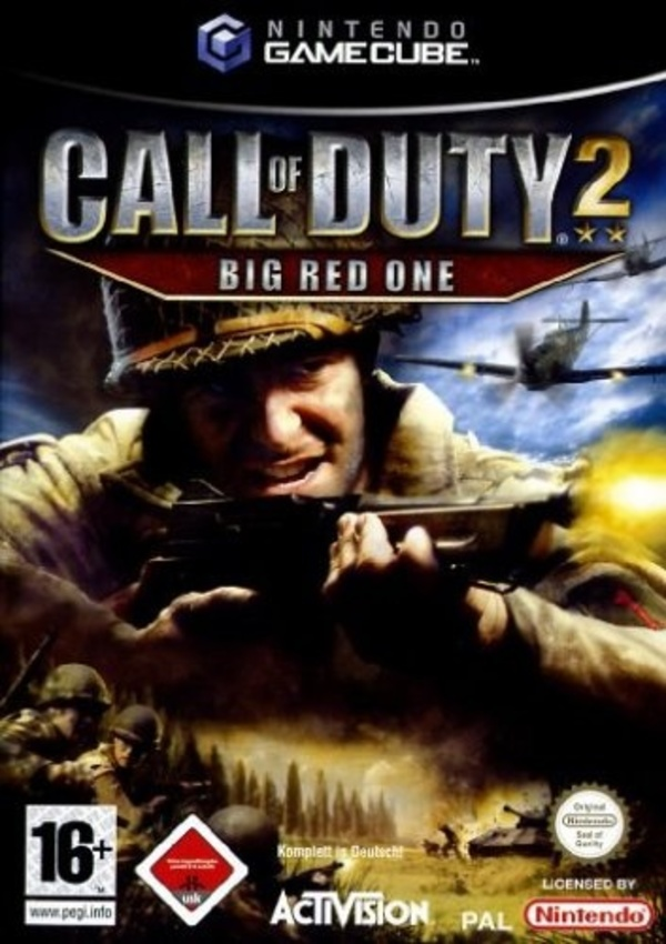 Cover zu Call of Duty 2: Big Red One