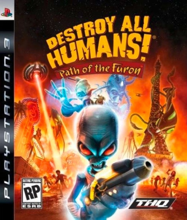 Cover zu Destroy all Humans! Path of Furon