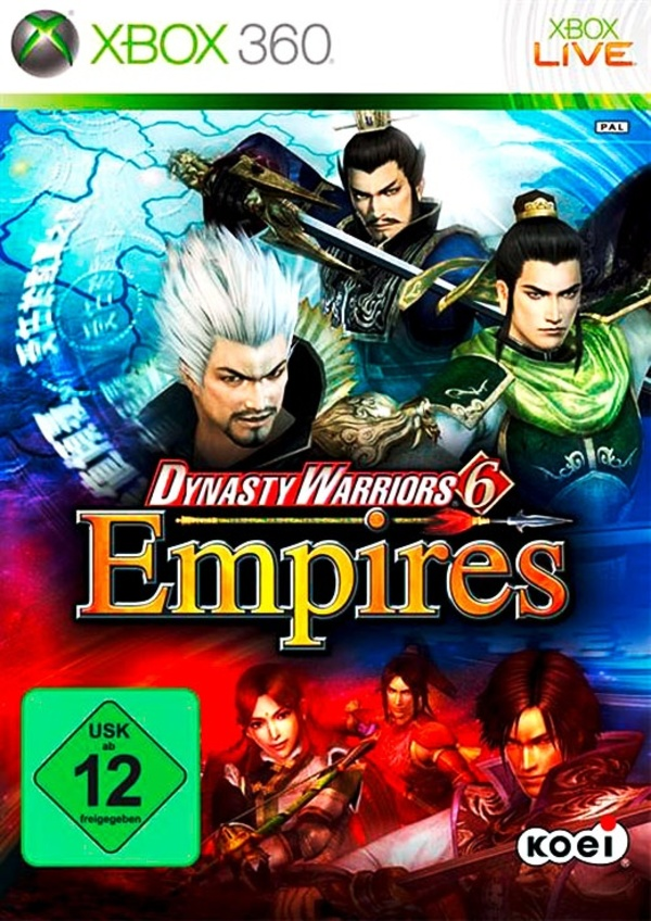 Cover zu Dynasty Warriors 6: Empires