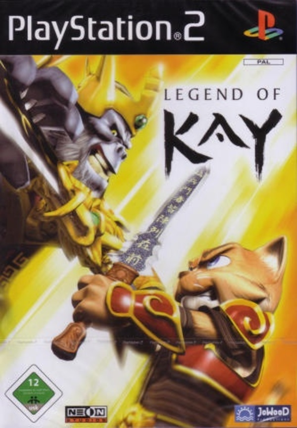 Cover zu Legend of Kay