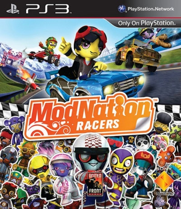 Cover zu ModNation Racers
