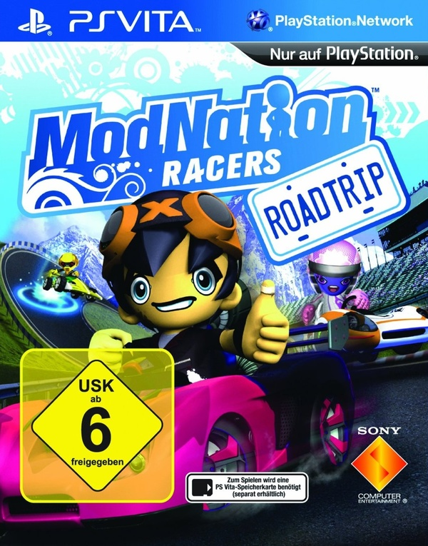 Cover zu ModNation Racers: Road Trip