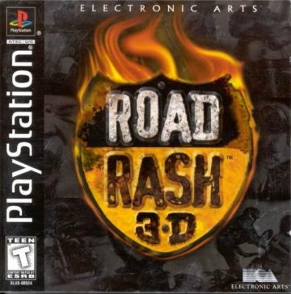 Cover zu Road Rash 3-D