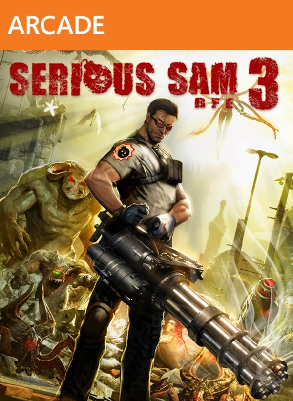 Cover zu Serious Sam 3: BFE
