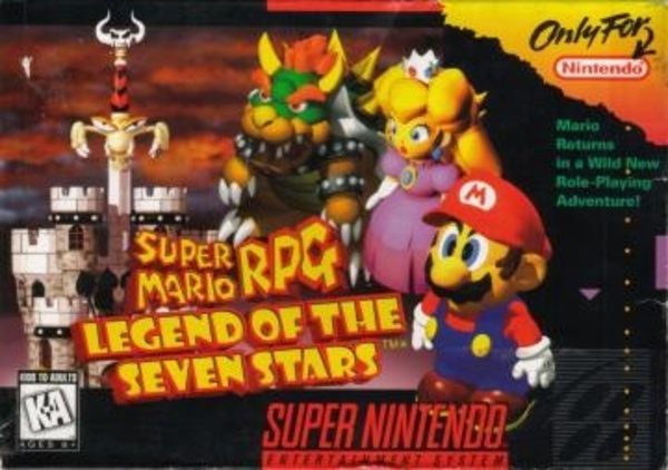 Cover zu Super Mario RPG: Legend of the Seven Stars