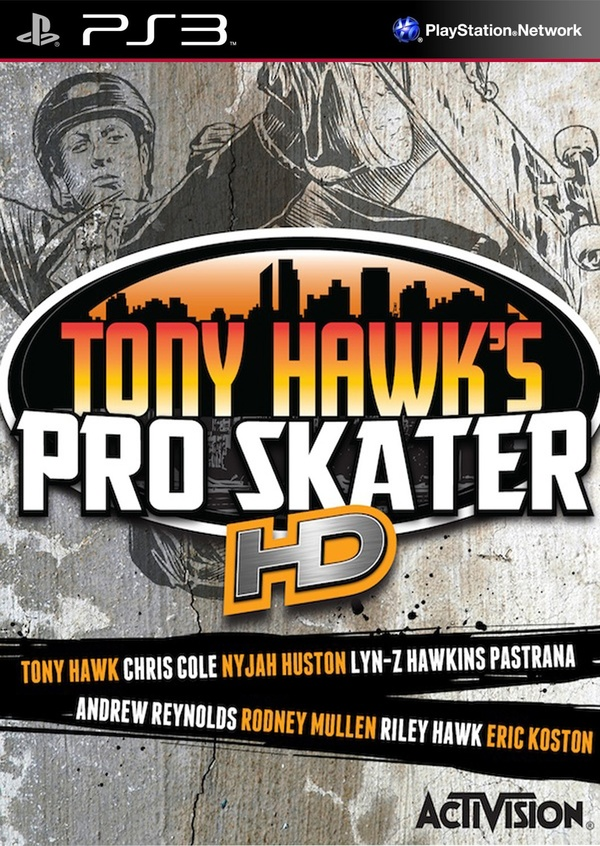 Cover zu Tony Hawk's Pro Skater HD