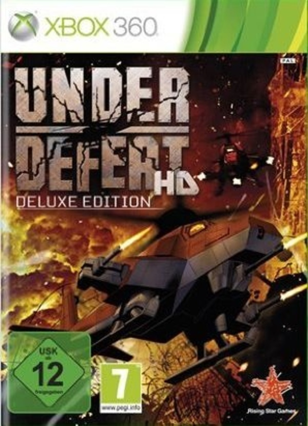 Cover zu Under Defeat HD Deluxe Edition
