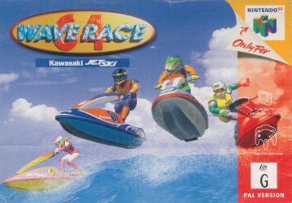 Cover zu Wave Race 64 Kawasaki Jet Ski