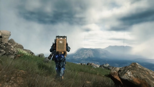 Death Stranding-Trailer zeigt unsichtbare Babys & Pinkel-Gameplay