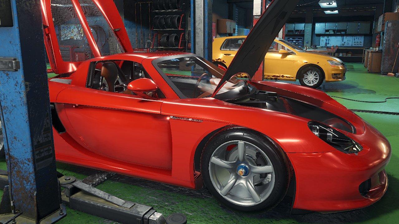 Autowerkstatt simulator ps4