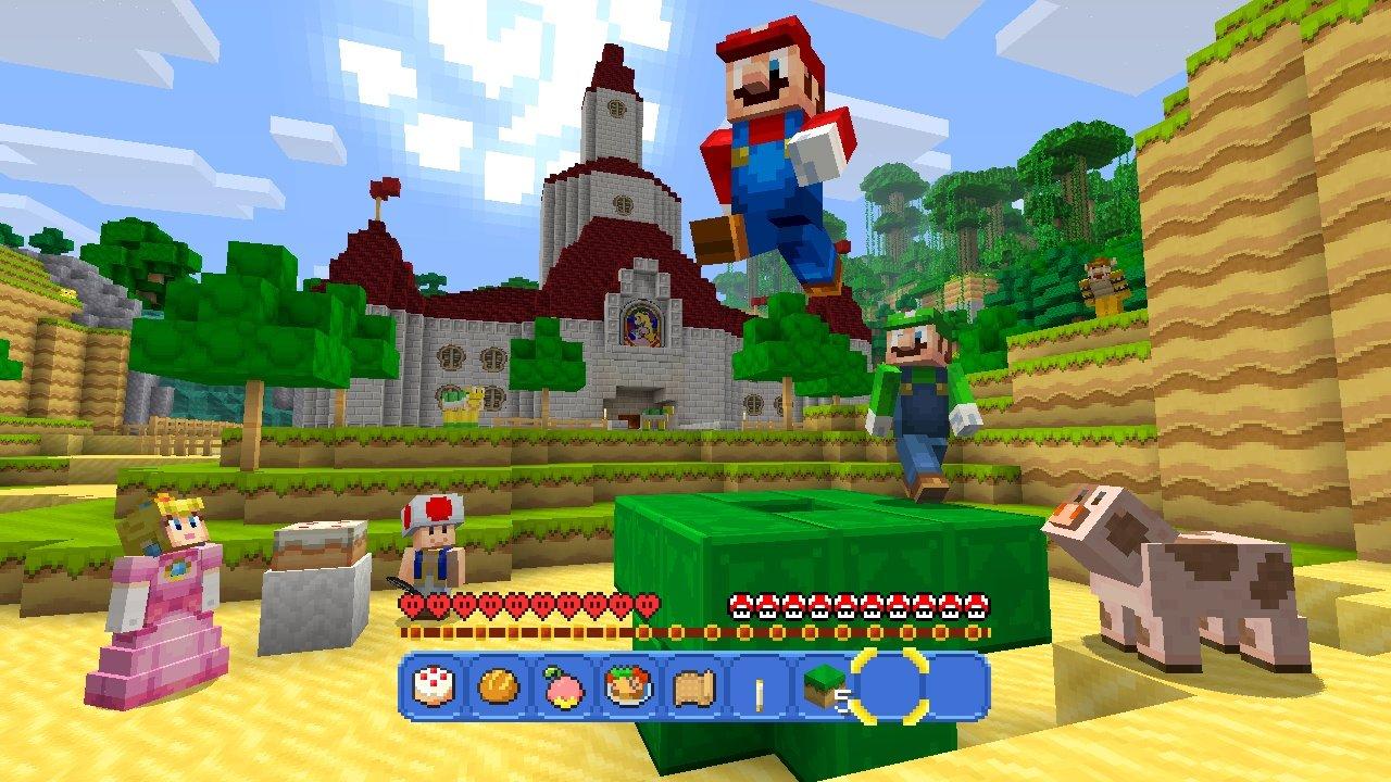 Minecraft Nintendo Zeigt Kostenloses Super Mario Mash Up Pack - Minecraft spieler suchen
