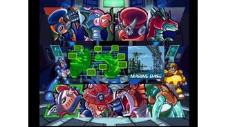 Megaman X and Double pick a stage.