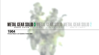 <b>Metal Gear Solid HD Collection</b><br> Im Gegensatz zu den bisherigen HD Collections könnt ihr bei MGS immer aus den jeweiligen Spielen ins Hauptmenü zurückkehren.
