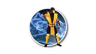 <b>Scorpion in Mortal Kombat 2 (1993)</b>