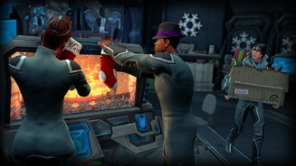 <b>Saints Row 4</b><br/>Screenshot aus dem DLC »How the Saints Save Christmas«