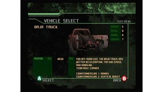 Vehicle Selection