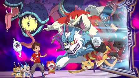 Yo-Kai Watch 4 - Gameplay: Pokémon-Konkurrent erscheint 2019 für Nintendo Switch