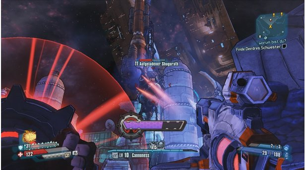 <b>Borderlands: The Pre-Sequel</b><br>Die Shugurath gehören zu den wenigen neuen Gegnertypen in Borderlands: The Pre-Sequel.