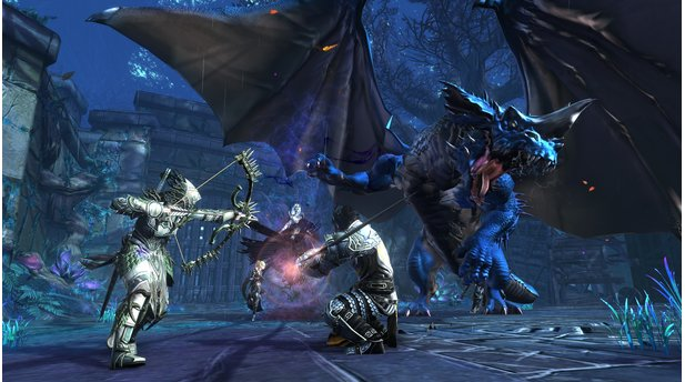 NeverwinterScreenshots von der PS4-Version