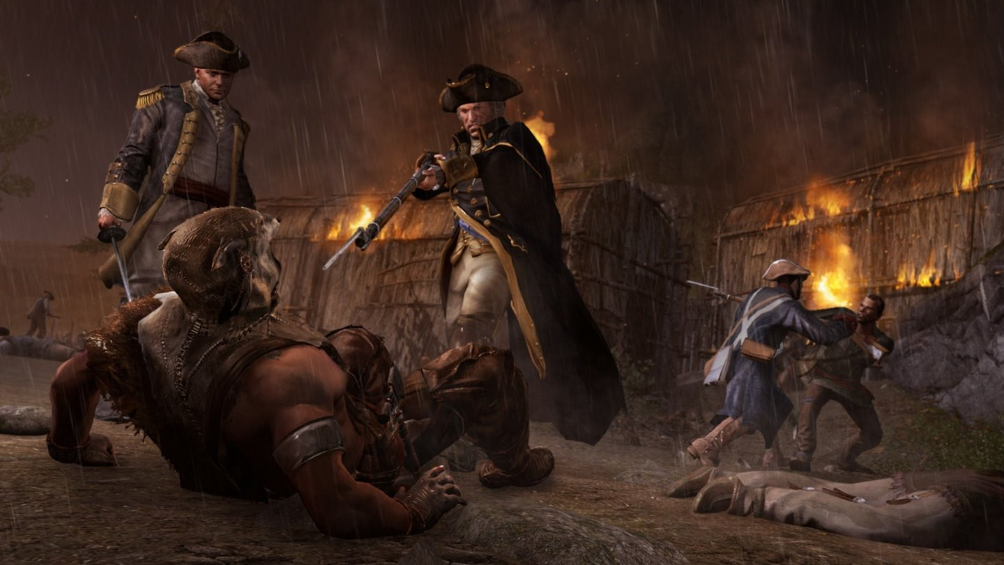 Assassin's Creed 3 - Screenshots aus dem König-Washington-DLC