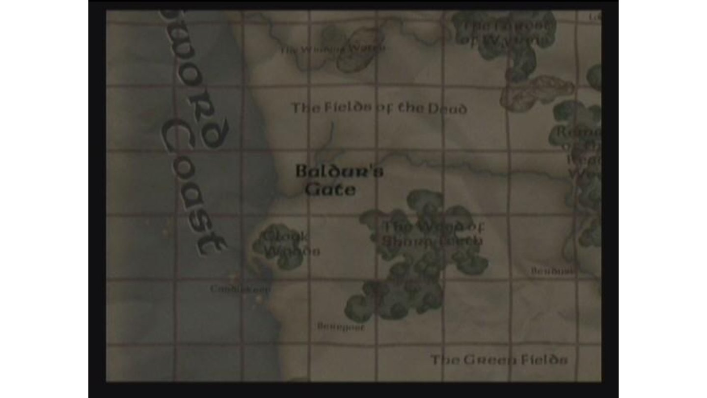 When each chapter opens you see a short movie of the world map.