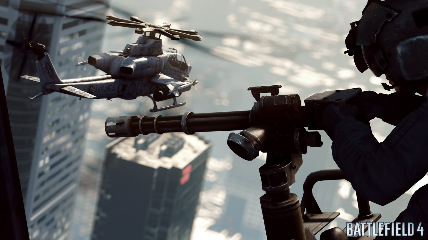 Battlefield 4 - Multiplayer-Screenshots aus Siege on Shanghai