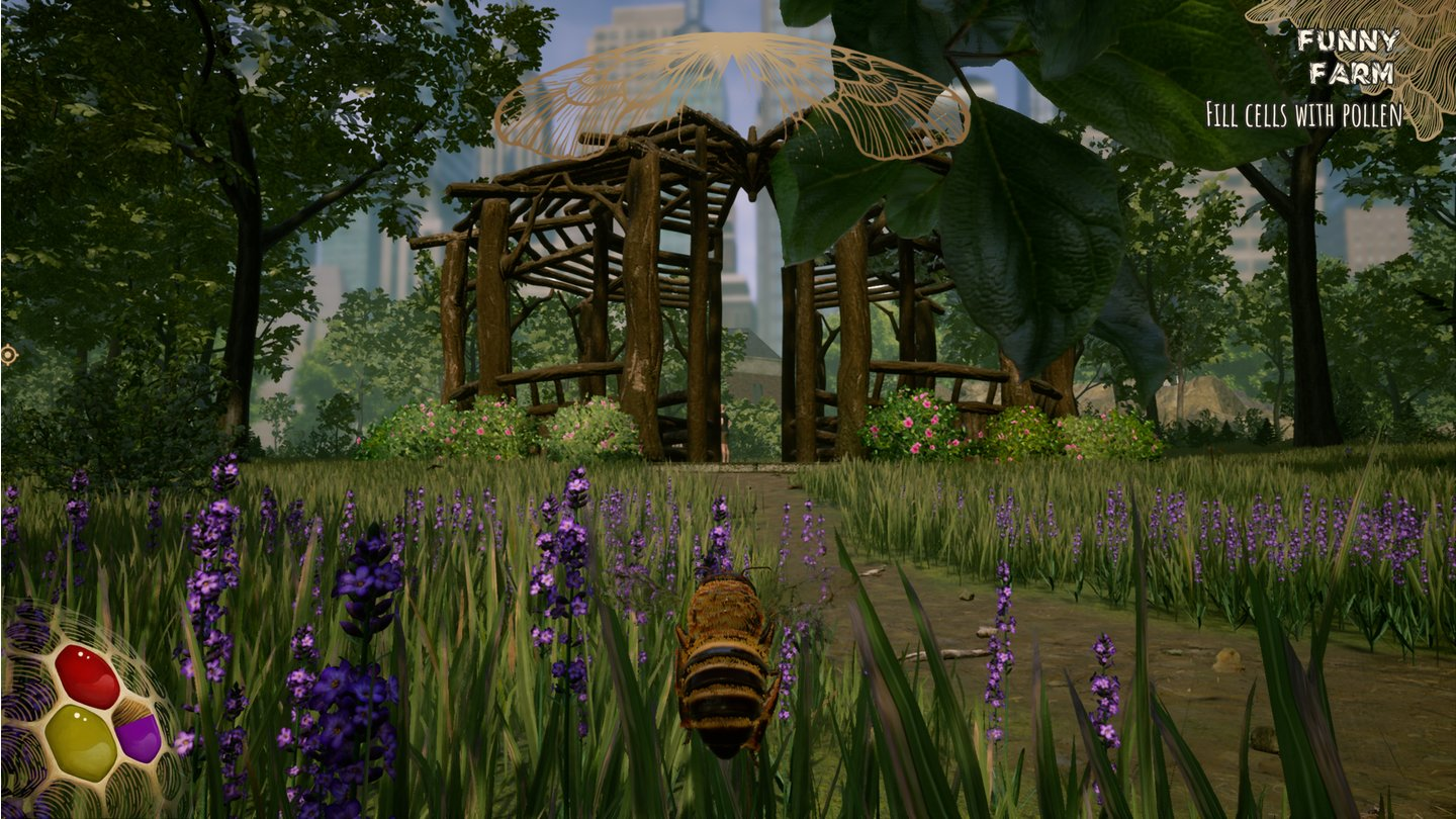 Bee Simulator - Screenshots