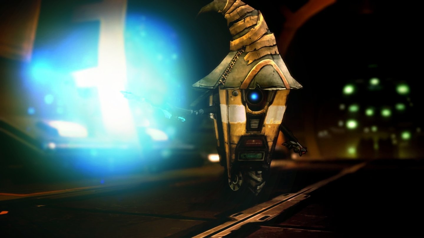 Borderlands: The Handsome CollectionDer plapperfreudige Claptrap ist in Borderlands: The Pre-Sequel spielbar.
