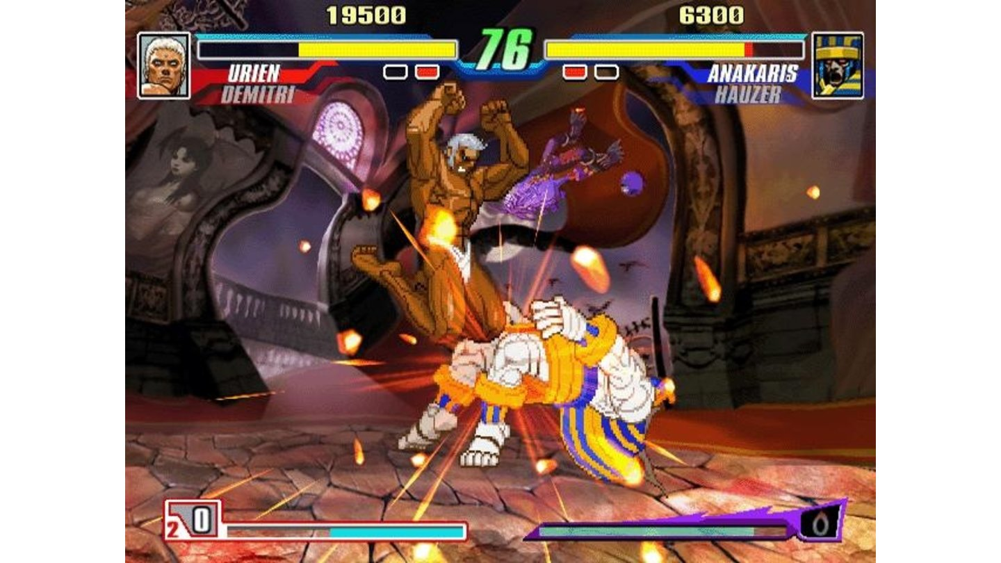 Darkstalkers just don't play nice.