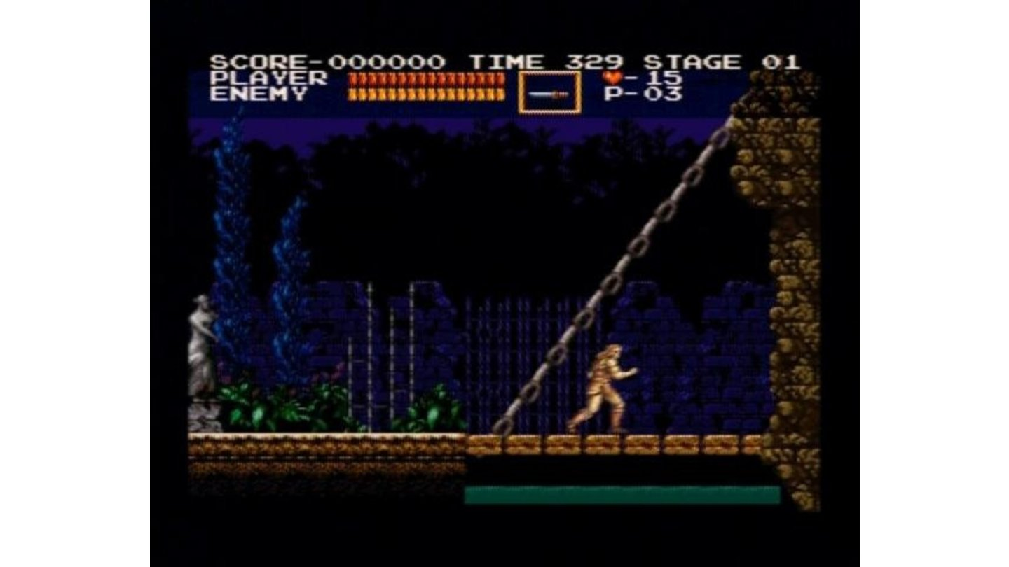 (Original Mode) Entering the point of no return, castle of terror.