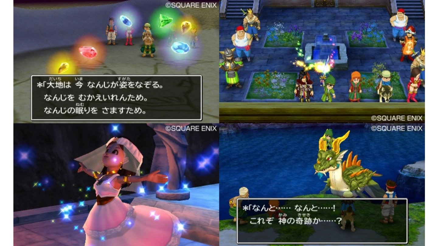 Dragon Quest VII - Bilder aus dem 3DS-Remake