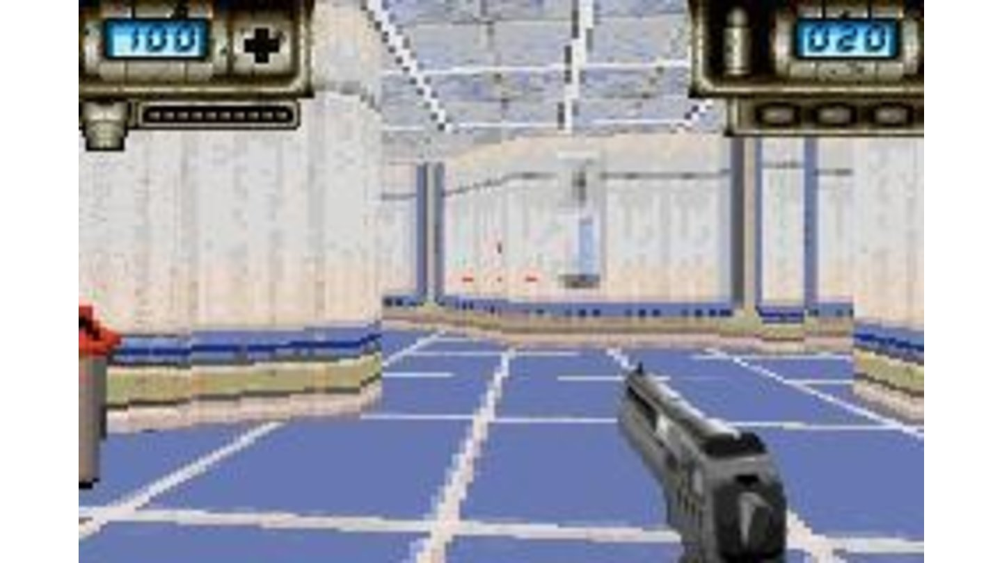 As you can see, the graphics don't quite live up to those of Duke Nukem 3D