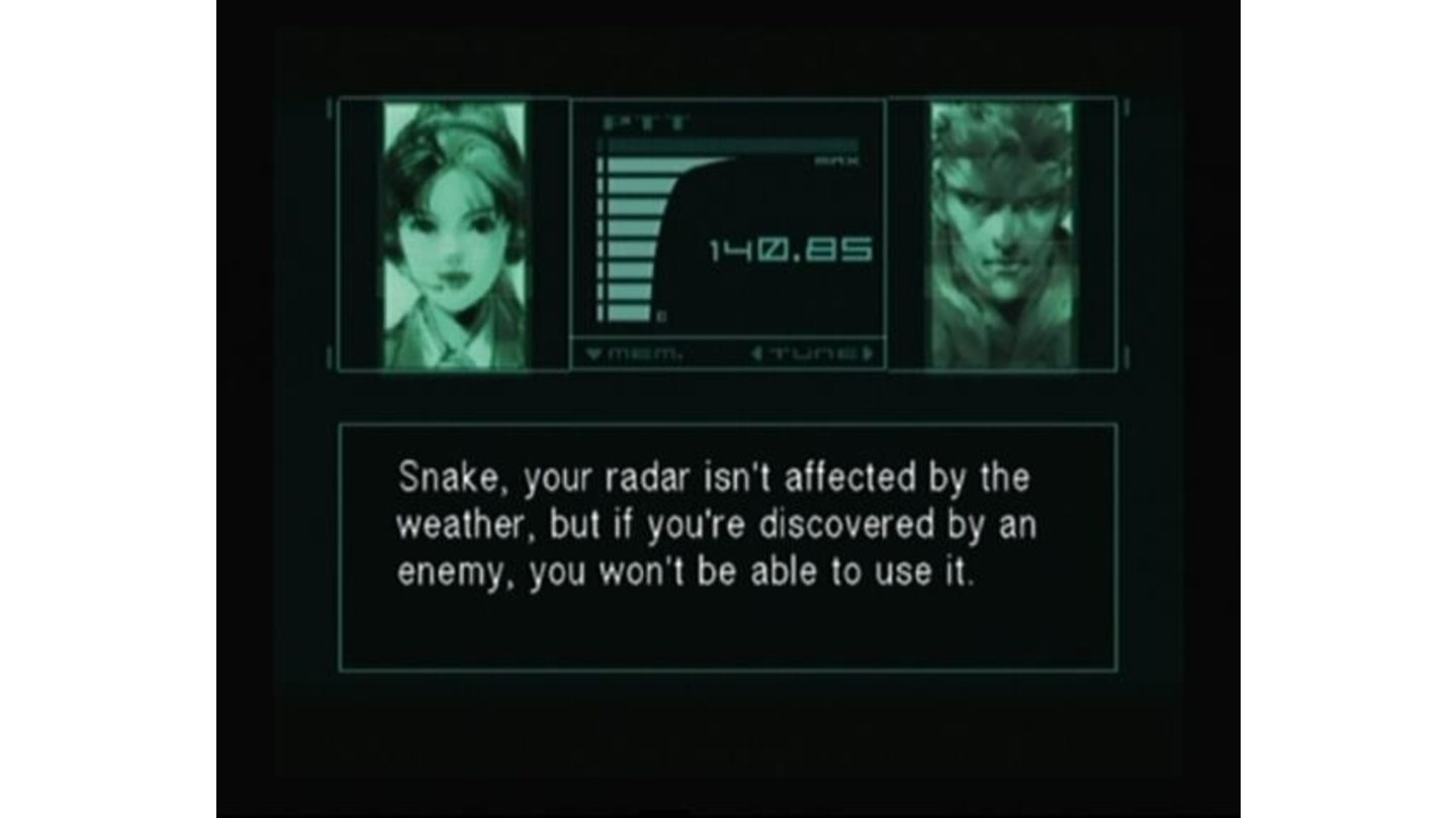 Snake talking to Mei Ling.