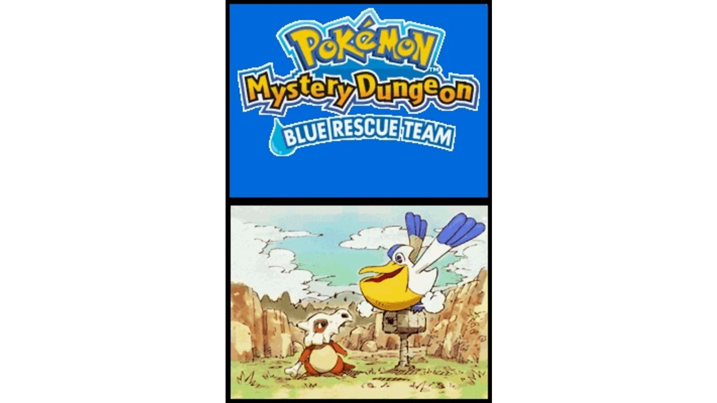 Pokémon Mystery Dungeon Team Blau DS 1