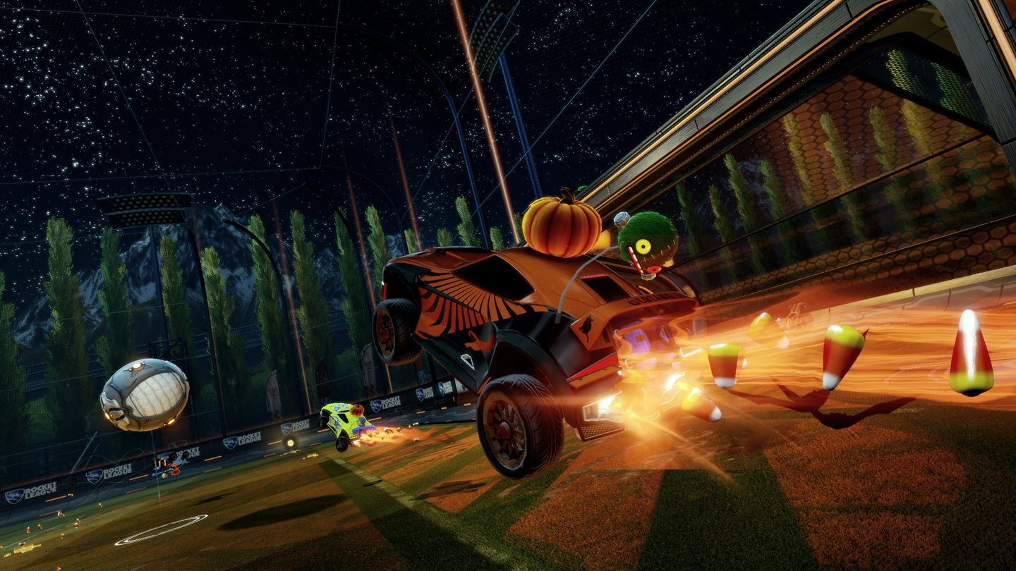 Rocket LeagueScreenshots der Halloween-Items