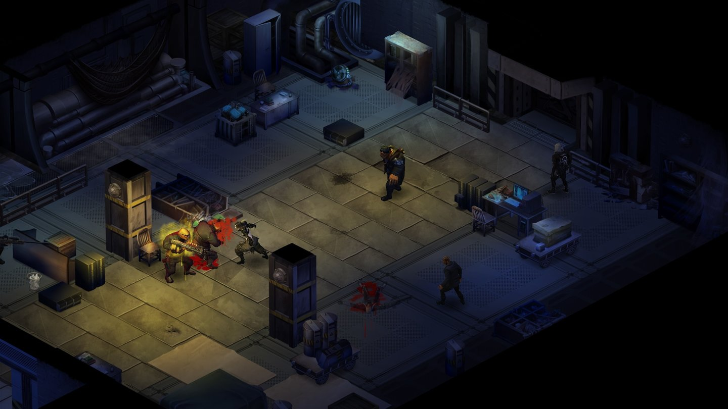 Shadowrun Returns - Screenshots zum Dragonfall-DLC