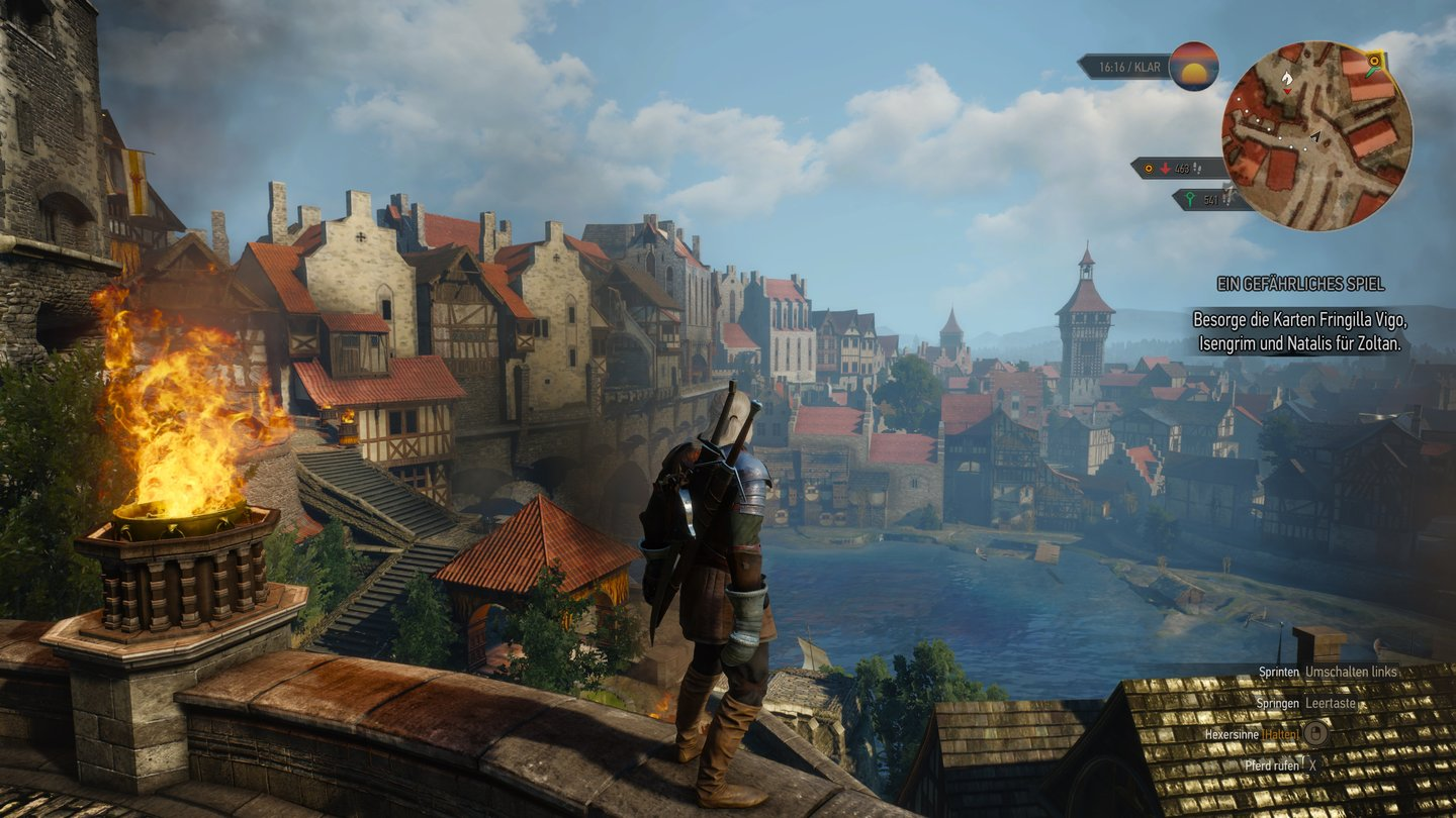 Witcher 3 in extrem - 4K 1 Stadt